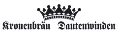 Kronenbräu Dautenwinden Gastronomie, Festzeltverleih