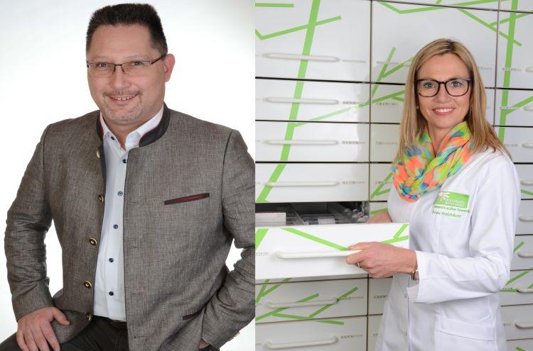Carole Holzhäuer und Marc Stümmler