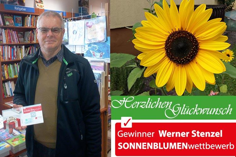 Gewinner des Sonnenblumen-Wettbewerbs