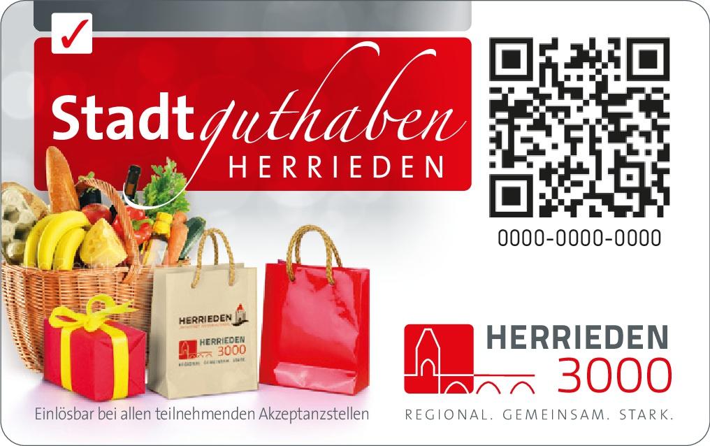 Stadtguthaben Herrieden - damit Sie es in unserer Stadt gut-haben!